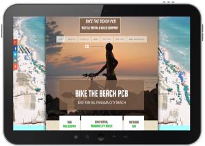 Phone App Marketing Bike The Beach