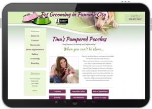 Phone App Marketing Tina's Pampered Pooches